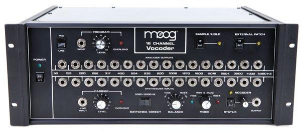 Moog 16-Channel Vocoder
